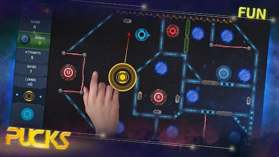 Space Pucks Game- screenshot thumbnail
