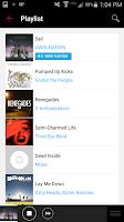 Screenshot of Radio.com