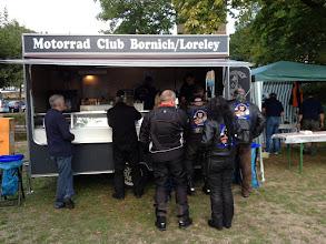 Photo: ein Dank an den MC Bornich für das Imbiss Mobil