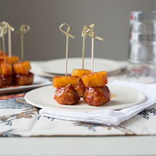 Sweet and Sour Tempeh Meatballs.