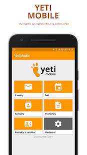 Yeti Mobile - náhled