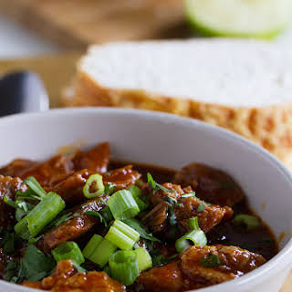 New Mexican Red Pork Chili.