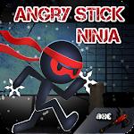 Angry Stick Ninja Icon