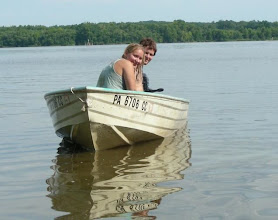 Photo: My son Chauncy and his wife, Ashley on Kentucky Lake, near their home.