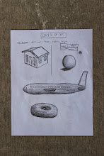 Photo: You Can Draw in 30 Days by Mark Kistler - Lesson 1. Pretest drawing the house, airplane, and donut from memory, then onto my first lesson: the sphere.