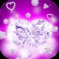 Diamond Hearts Live Wallpaper apk