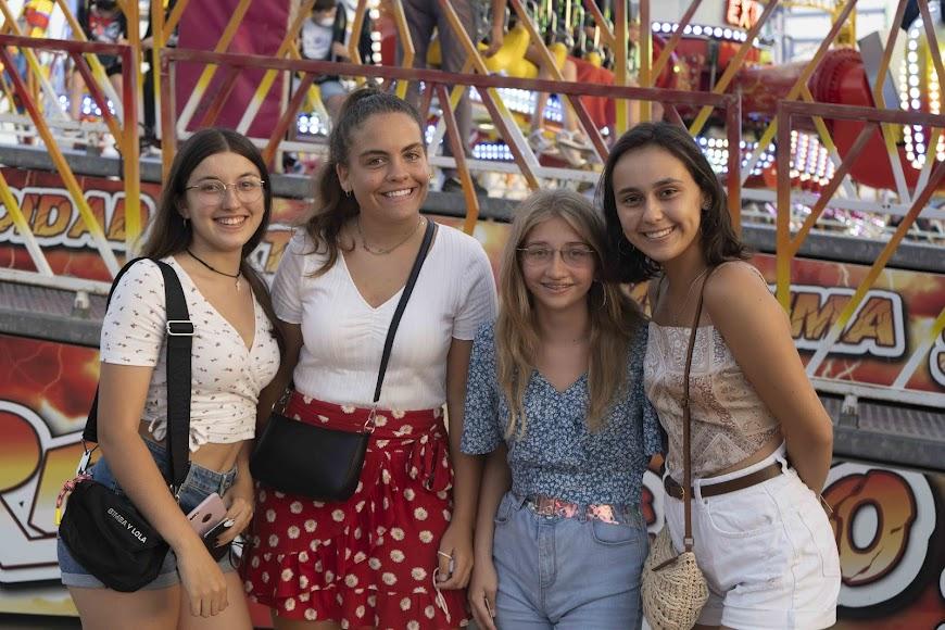 Silvia, Sofía, María y Carmen