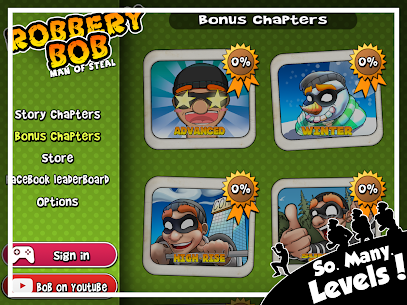 Robbery Bob MOD APK 1.18.38 [Unlimited Money + Unlocked All Features] 7