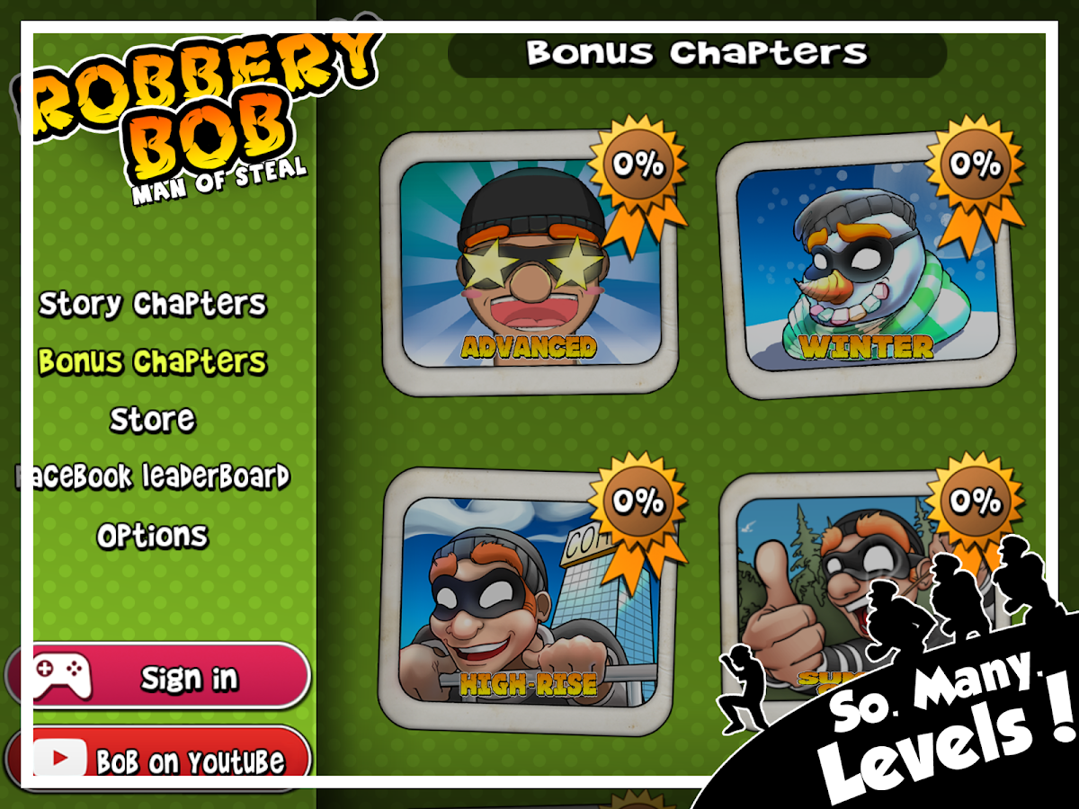 Robbery Bob- screenshot