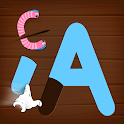 Alphabets game for baby kids - learn letters icon