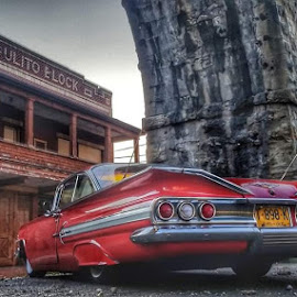 Uptown girl by Rich Gatchel - Transportation Automobiles ( #chevrolet #smalltown #aintthatamerica #usa #viaduct #ohio )