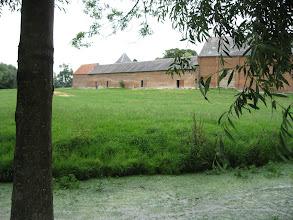 Photo: Fonsomme : La Somme et l'ancienne abbaye des religieuses de Fervaques (à proximité de sa source).