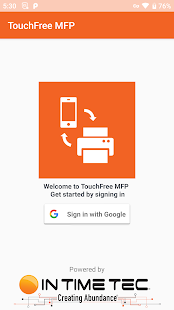 Touchfree MFP for PC-Windows 7,8,10 and Mac apk screenshot 1