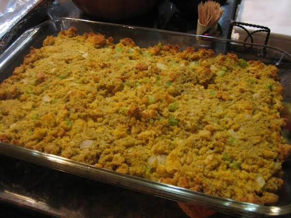 Granddaddy's Cornbread Dressing Recipe