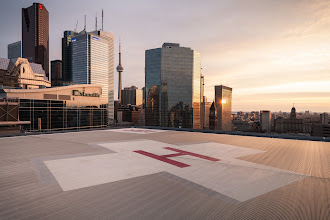 Photo: Air Lifted There were no air emergencies on this day.  #toronto #cntower #rooftopping #skyline #sunset #urbex #urbanexploration