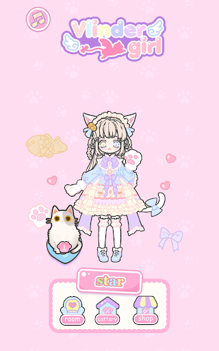Vlinder Girl - Dress up Games , Avatar Creator 1.1.8 screenshots 8