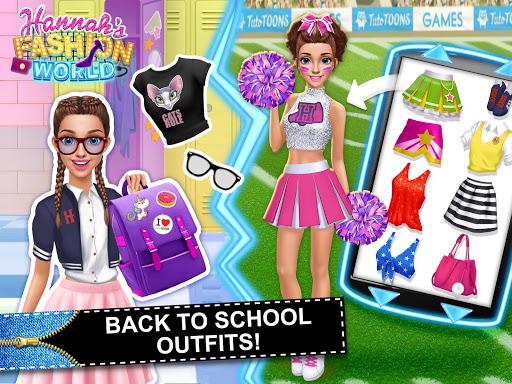 Hannahu2019s Fashion World - Dress Up Salon for Girls 1.0.15 screenshots 24