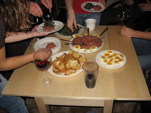 Beef tartare munchies