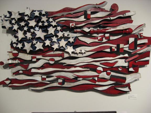 cool american flag art