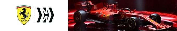 2020F1新車発表フェラーリ