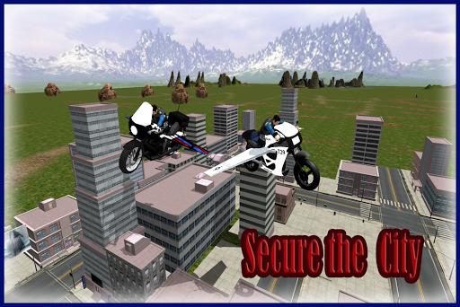 玩模擬App 警方飛行模擬器自行車免費 APP試玩