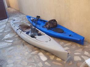 Photo: Two ocean kayaks