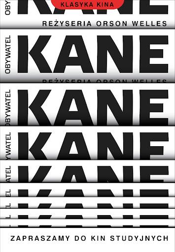 Polski plakat filmu 'Obywatel Kane'