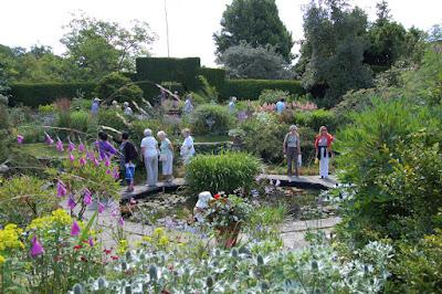 Formal Pond Garden