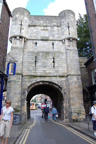 Bootham Bar from Petergate