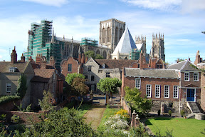 York Minster from walls