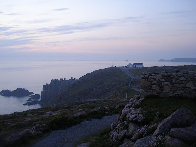 Lands End at sunset