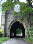 Whalley Abbey gatehouse