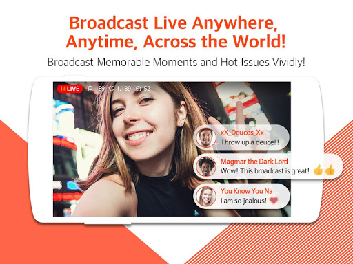 Mobizen Live Stream for YouTube - live streaming 1.2.11.3 Screenshots 5