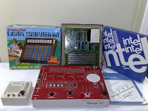 Photo: Science Fair Digital Computer Kit, Intel SDK-85, HeathKit Workshop 35