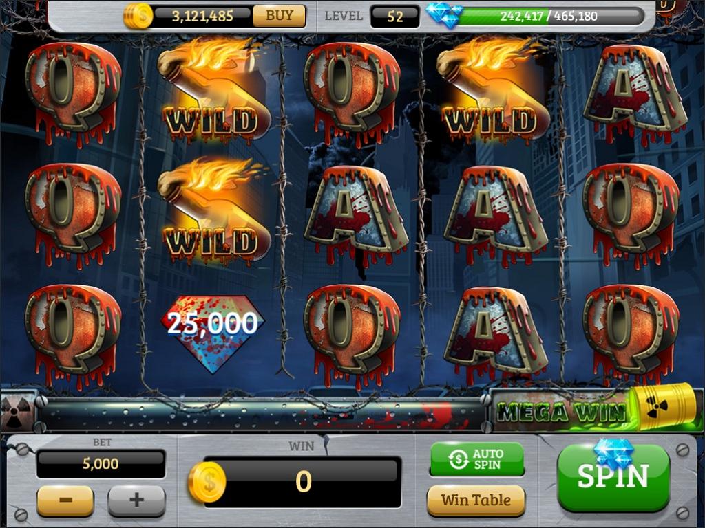 Zombie Slot Machine