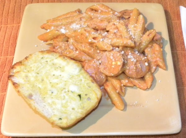 Christy's Smoked Sausage Penne In Vodka Blush Sauce Recipe