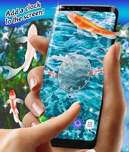 Koi Fish Hd Live Wallpaper Screenshot Thumbnail