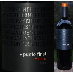 Logo for Punto Final Malbec Clasico