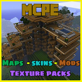 Maps for MCPE: Texture Packs, Mods, Skins