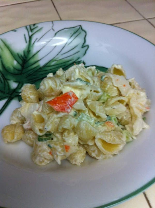 Macaroni Crab Salad Recipe