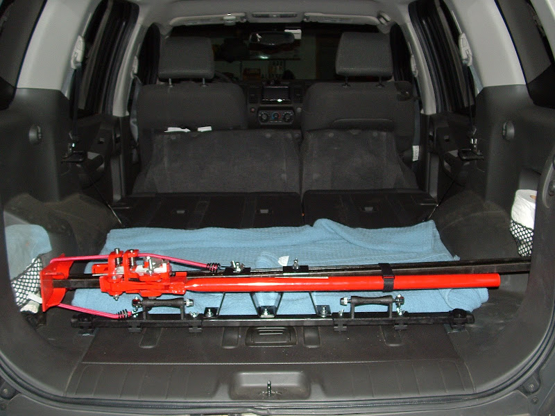 How to interior bike rack mount version iv second generation nissan xterra forums 2005 Nissan xterra bike rack interior