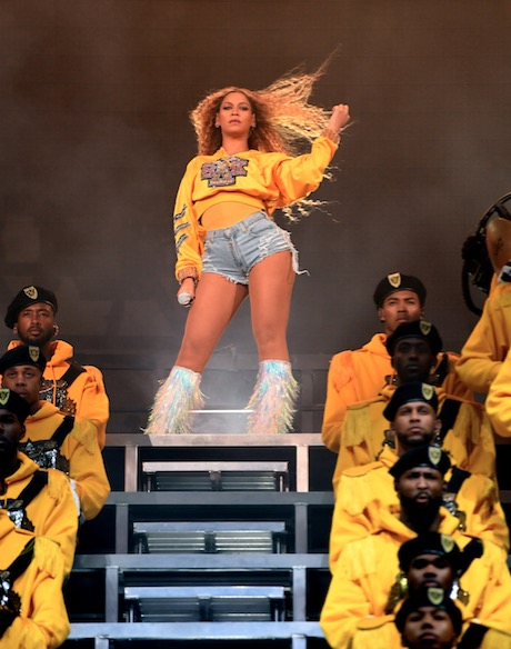 Beyonce Knowles performs onstage during 2018 Coachella Valley Music And Arts Festival Weekend.