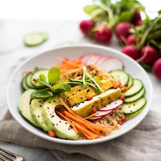 Asian Style Tofu Buddha Bowl