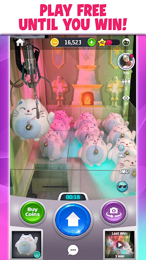 Clawee - A Real Claw Machine apkmartins screenshots 1