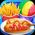 Carnival Fair Food - Crazy Yummy Foods Galaxy Icon
