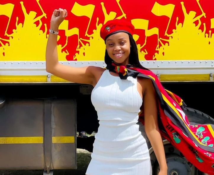 Ntando Duma compared to Makhadzi as celebs show their political colours - TimesLIVE