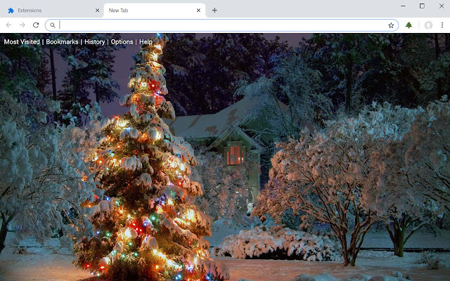 Christmas Wallpapers HD New Tab Theme