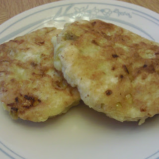 Corn and Green Chile Fritters.