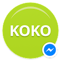 KOKO for Messenger. icon