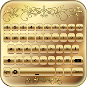Gold Keyboard Custom Themes